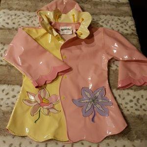Kidorable Raincoat Lotus Flower